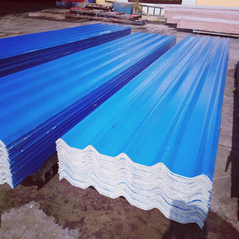 960-5双蓝膜菱镁瓦